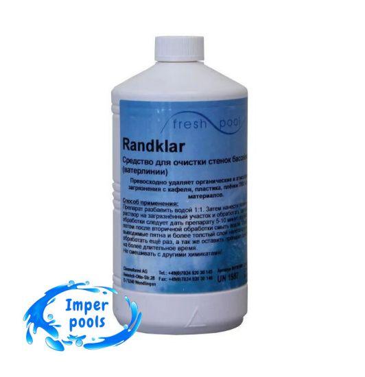 Засіб для чищення стінок і ватерлінії від жирних і маслянистих плям Fresh Pool Randklar