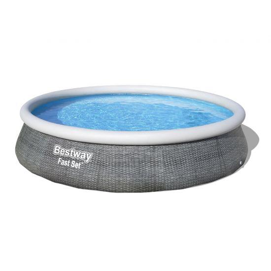 Надувной бассейн Bestway 57376 (396x84 см) с картриджным фильтром