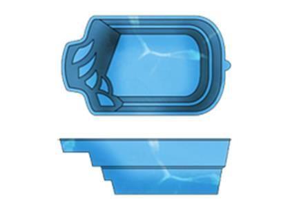 Басейн ТМ Блакитна лагуна 5,0х3,0х1,7