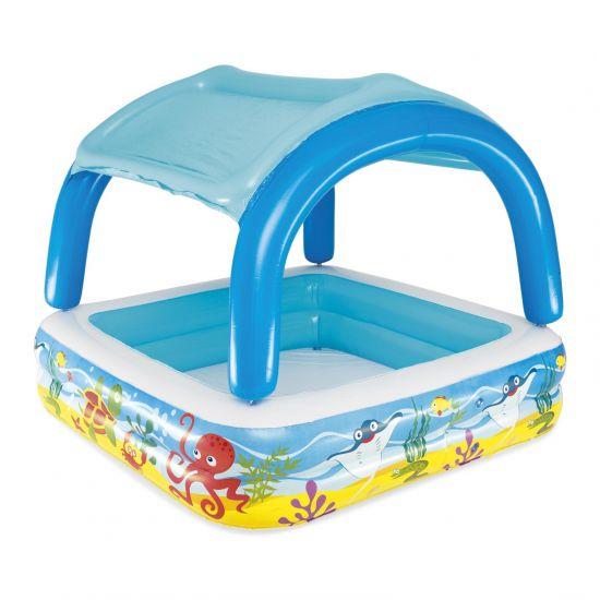 Детский надувной бассейн Bestway 52192 (140х140х114 см)