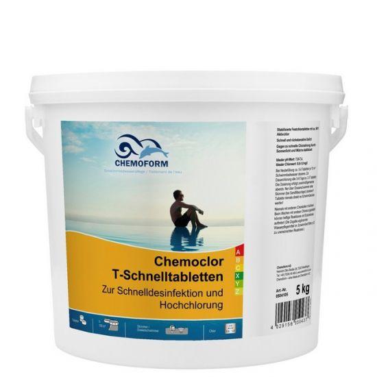 Препарат для шокового хлорирования в таблетках Chemochlor-T-Schnelltabletten